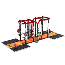 Dual Power Rack